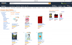 WAKE THE FUCK UP HITS THE HOT NEW RELEASES LIST ON AMAZON.COM:)